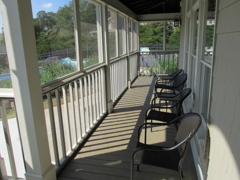 Front Clubhouse Porch